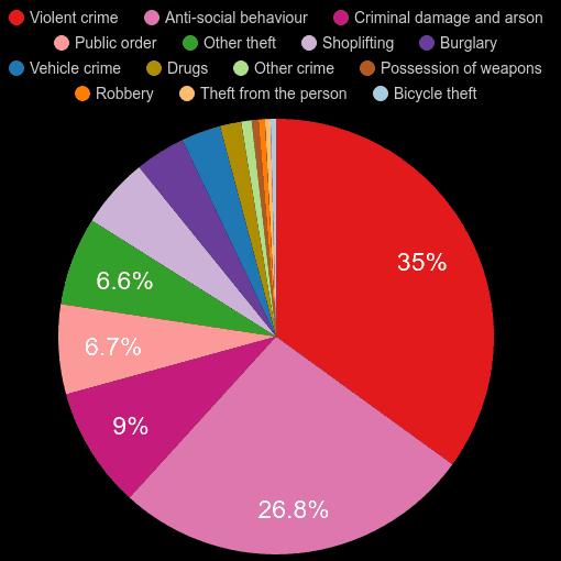 Dorchester crime statistics