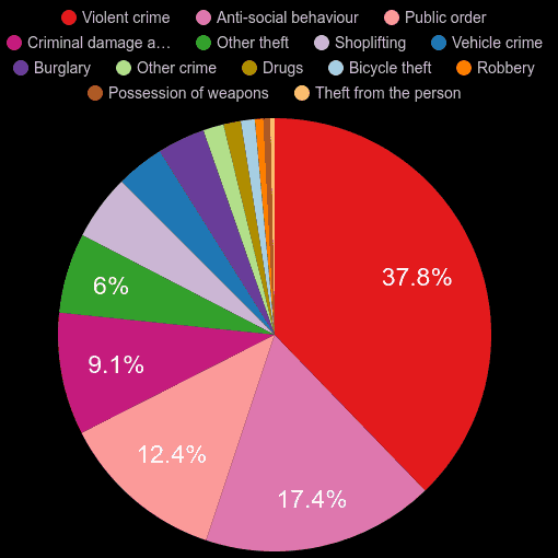 Somerset crime statistics