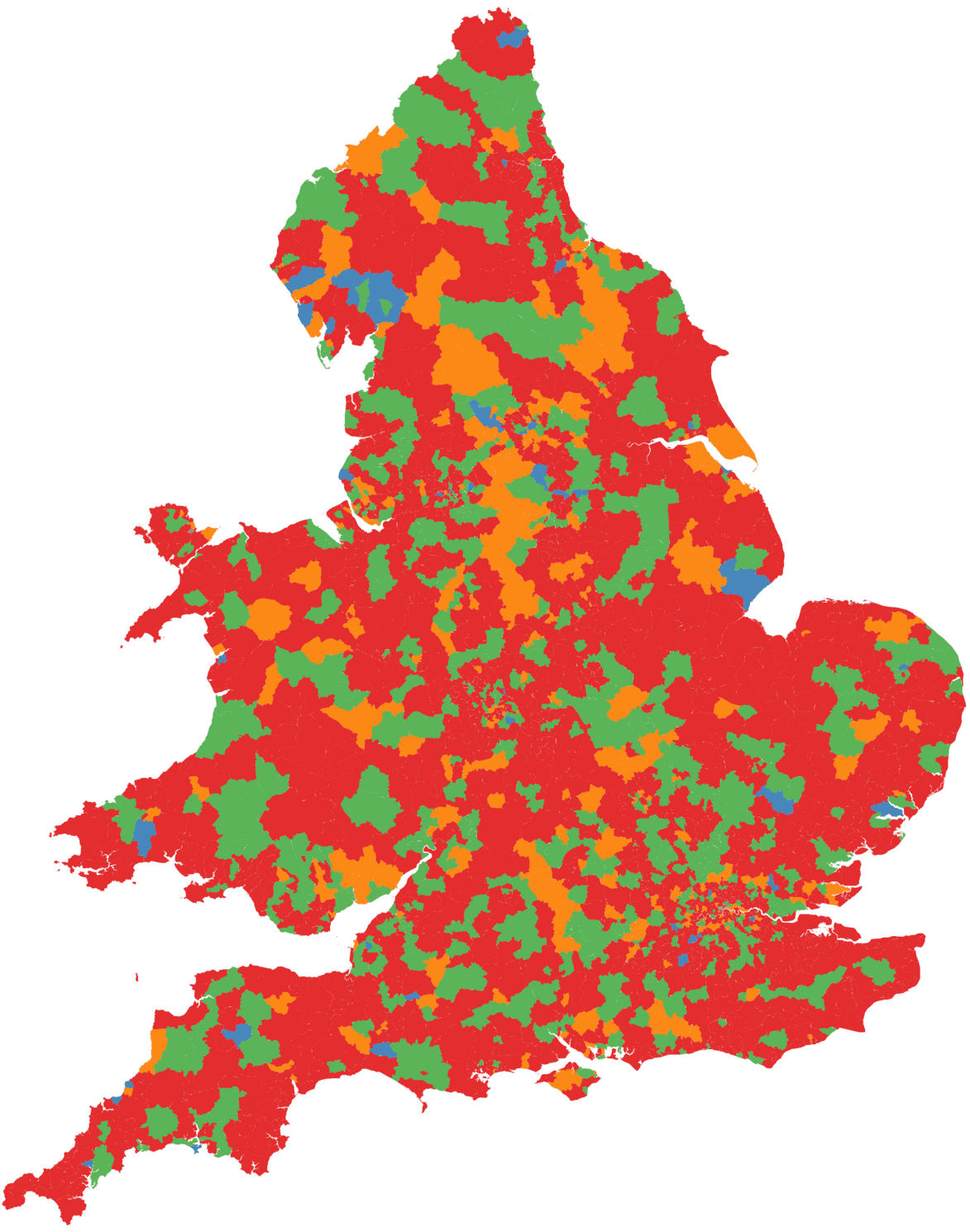 Uk violent crime high season by postcode district